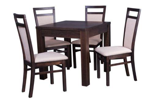 Stół Kwadratowy Tony I Krzesła Amanda Zestawy Stoły I Krzesła